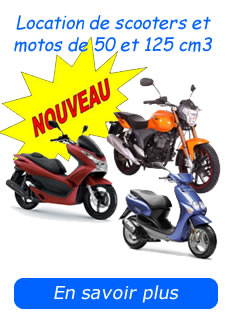 Hire a motorbike or scooter on Martinique